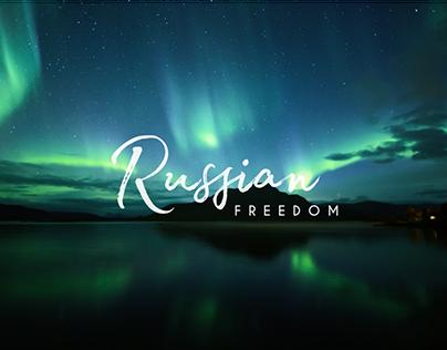 «Russian Freedom» — website design
