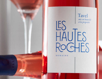 Domaine les Hautes Roches Wine Label