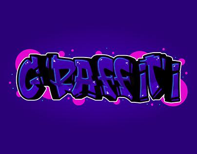 Graffiti Text - Adobe Illustrator Tutorial