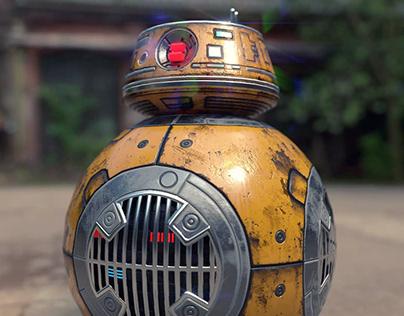 Robot rendering-《STAR WARS》