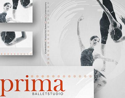 Prima Ballet   Branding and poster design