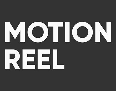 Motion Reel 2019