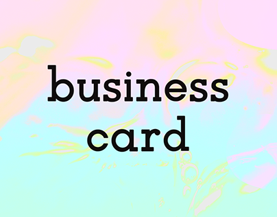 Business Card - 2016/2020
