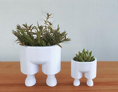 Succulent Planter with Legs