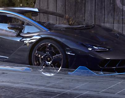 Render Challenge 31 - Lamborghini Centenario