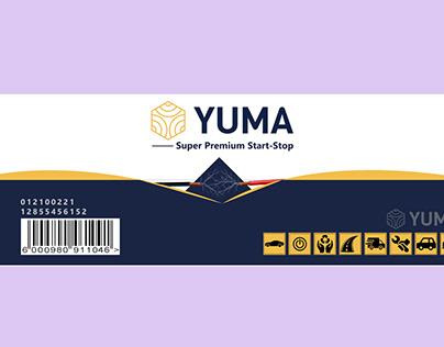 label design battery