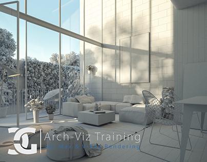 Glass House I CGProd Arch-Viz Training