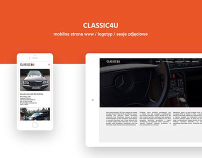 CLASSIC4U website