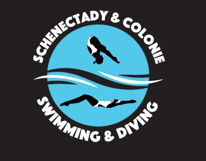 Schenectady Colonie Swimming & Diving Team Logo