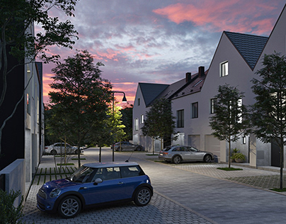 New quarter in Wroclaw, CGI