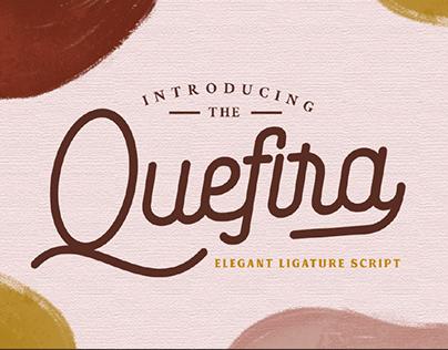 FREE | Quefira Elegant Script Font