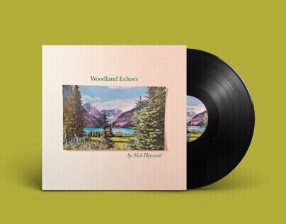 Nick Heyward - 'Woodland Echoes' vinyl album sleeve