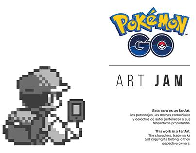 Pokémon Go × Art Jam
