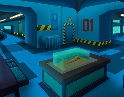 Laboratory concept art