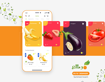 E-commerce Ramlak fruit and vegetable store (app-web)