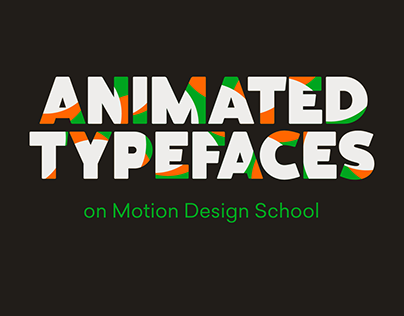 Animated Typefaces - Online Course