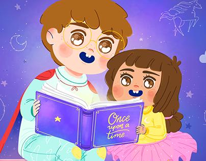 Illustrations for Kids App