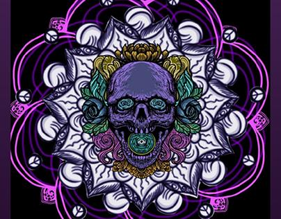 Skull Mandala