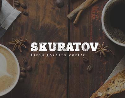 Промо-сайт для сети кофеен Skuratov Coffee