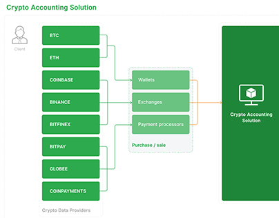 Accounting Platform with Crypto Assets