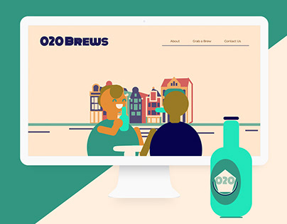 020 Brews Interactive Landing Page