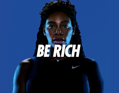 BE RICH | NIKE