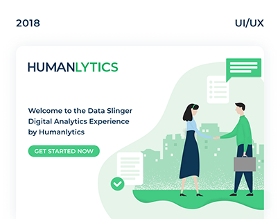 HUMANLYTICS - UI/UX for marketing web app