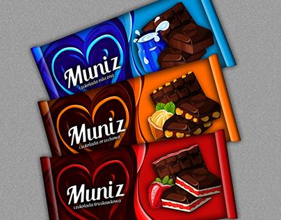 Muniz - chocolate packaging design