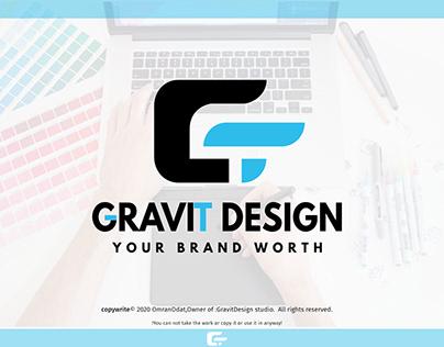 (GravitDesign) design studio brand identity