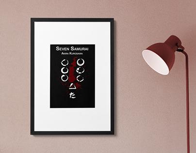 Minimalist film poster