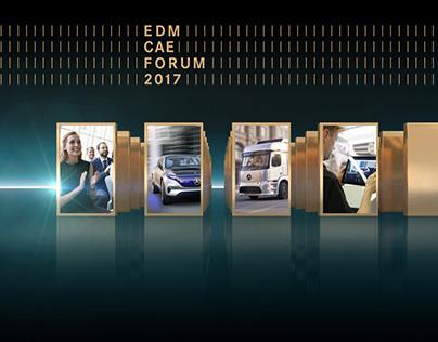 Daimler EDM CAE Forum 2017