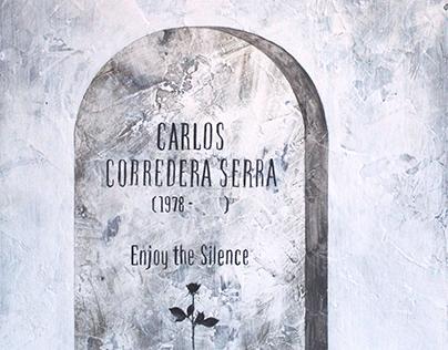 Self-portrait (tombstone design)