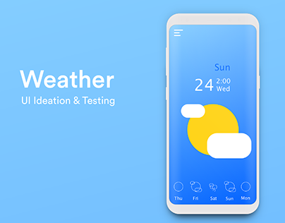 Weather UI Research