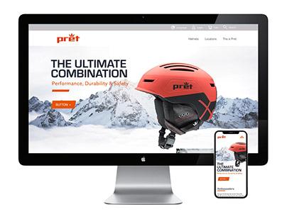 Pret Helmets Website