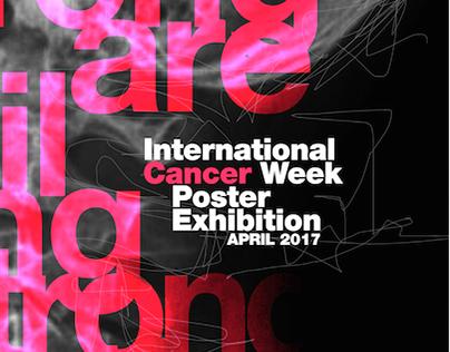 Poster International Cancer Week Exhibition / 2017