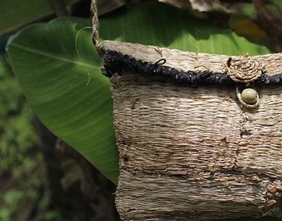 Banana fiber Purse