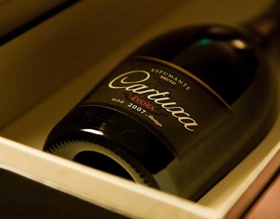 Cartuxa's Sparkling Wine presentation at Yeatman Hotel