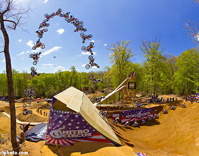 Action Sports: The FMX Triple Backflip