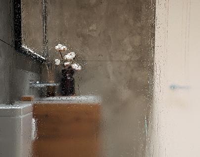 Bathroom Interior Design Project | Concrete&Rust Song