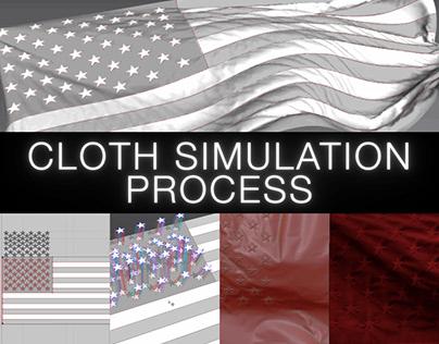 Cloth Simulation Process