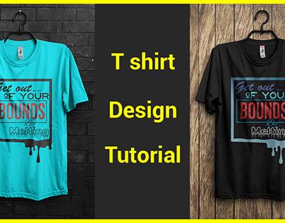 T shirt Design Tutorial Bangla