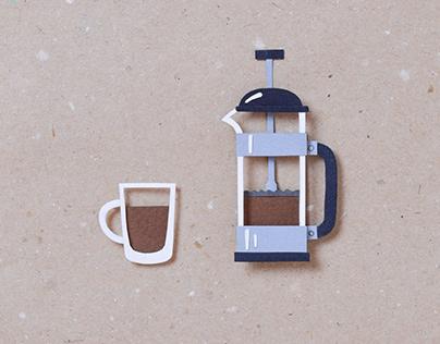 Coffee Break | stop motion animation