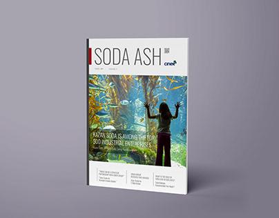 Soda Ash Dergi - Kapak ve İçerik Çalışması