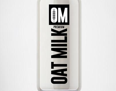 OM -oat milk Australia -Brand&Identity -Product Label