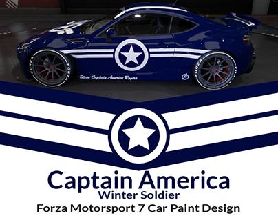 Captain America Winter Soldier Forza Motorsport 7