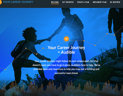 Audible HR Career Journey Website (2019)