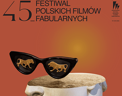 45. Polish Film Festival in Gdynia - competition poster