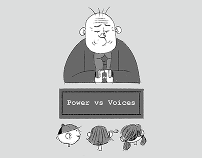 Power vs Voices Game Jam visual development