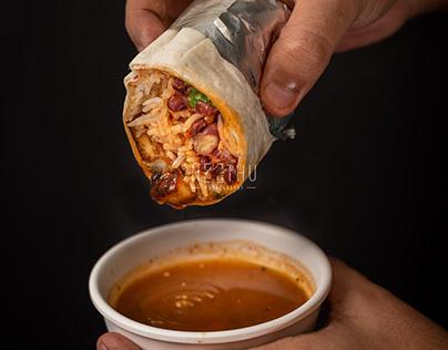 MenusShoot for Lets Burrito