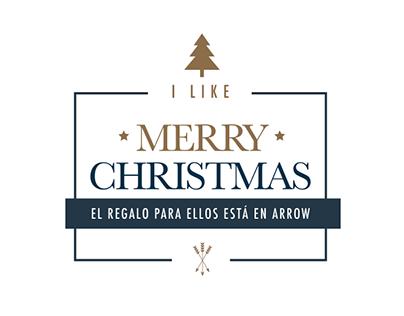 Arrow - I Like Merry Christmas